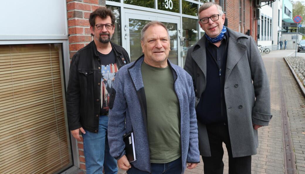 Johny Gullaker er gjest i Kulturstreif med Roos & Ovlien.