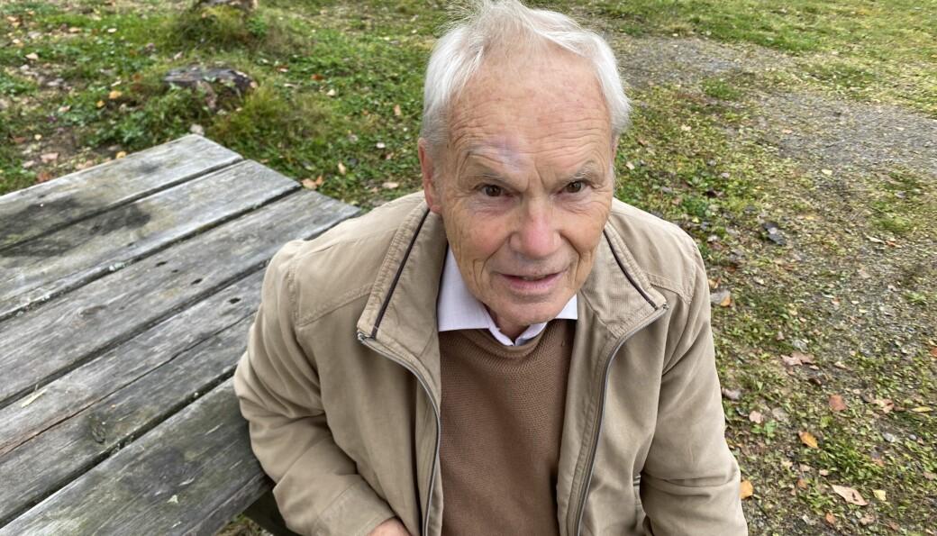 Selv om Ragnar Tronsmo rundet 80 år i sommer fortsetter han å holde Puttara i orden - over 20 år etter at han var med å starte Puttaras Venner.