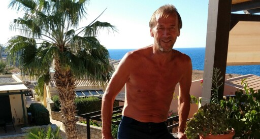 Rolf satt med morgenkaffen under jordskjelvet på Kreta: – Plutselig begynte hele bygget å riste