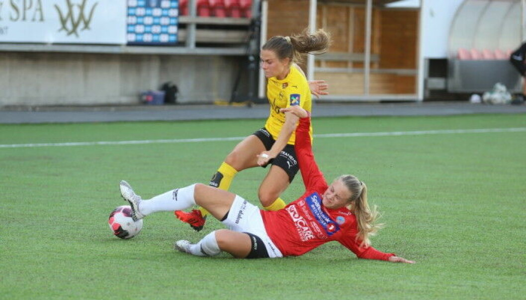 Rikke Skundberg Voldengen og de andre KIL-jentene kan i likhet med gutta rykke opp i høst.