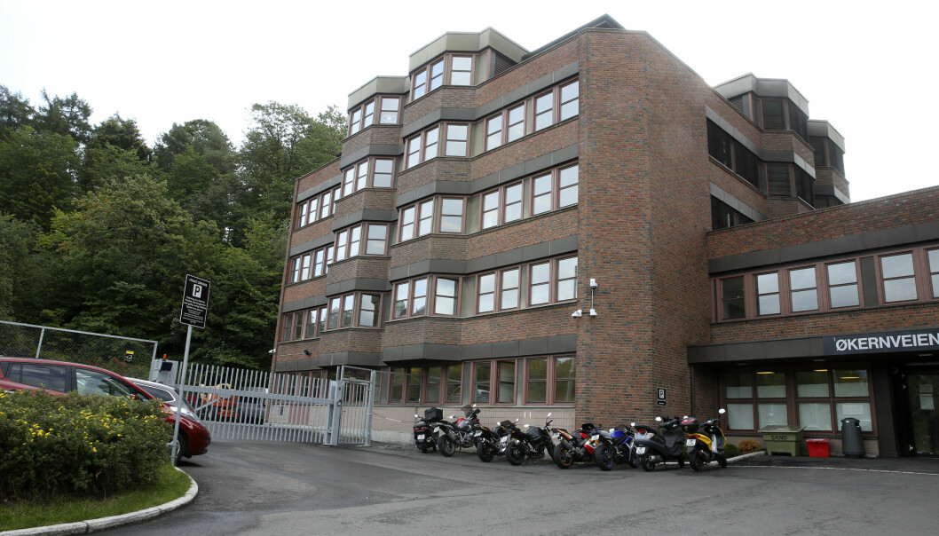 Politiets utlendingsenhet holder til i Økernveien 11-13 i Oslo.