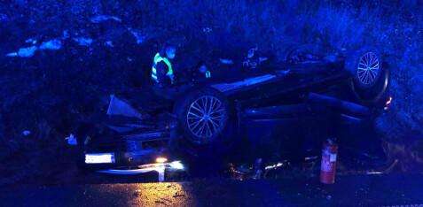To alvorlig skadet i trafikkulykken – en lettere skadet