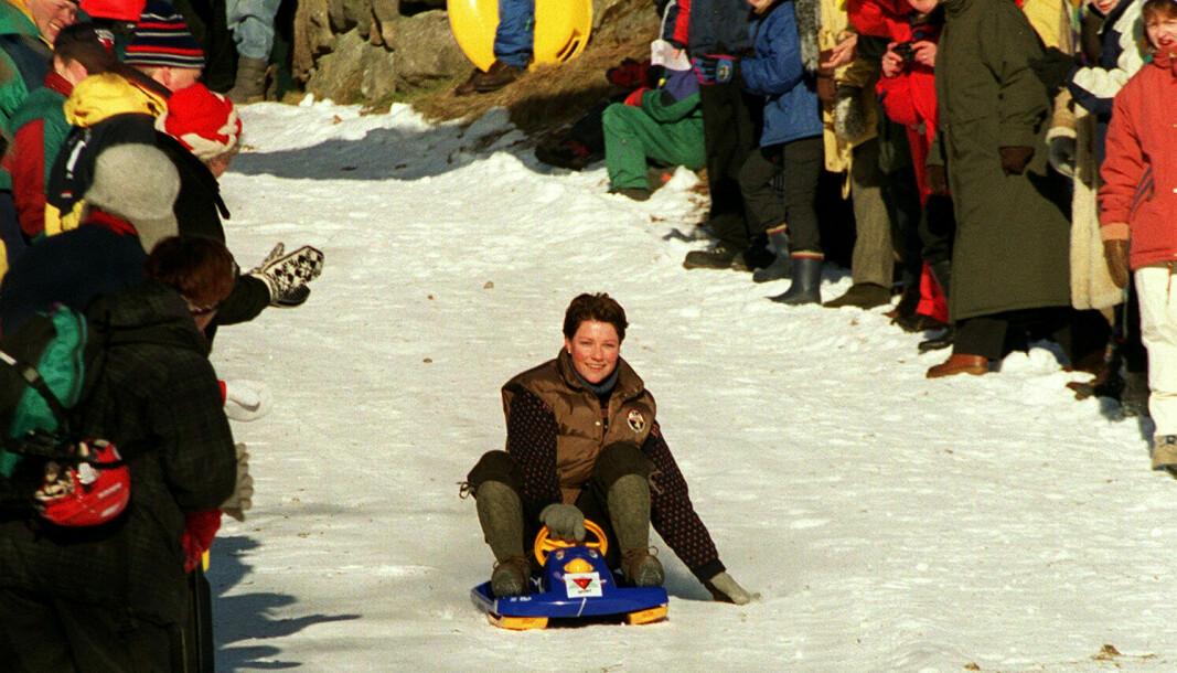 Märtha Louise åpnet Vinterfestivalen med en aketur i 1999 . Nå utvides Vinterfestivalen med en kulturfest.