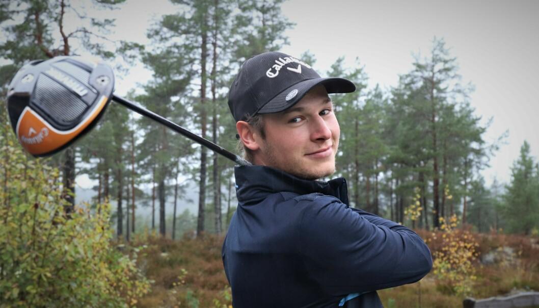 Carl Martin Repshus har hatt en utrolig fremgang det første året som golfspiller