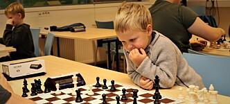 Sjakkspillere fra 4 til 91 år