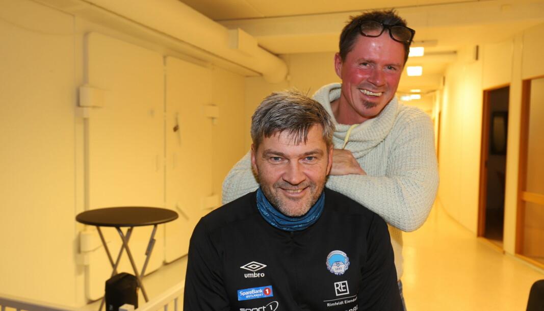 Trym Bergman og Pål Håpnes gjester podkasten Haraball. De to KIL-legende spiller hverandre fortsatt gode.