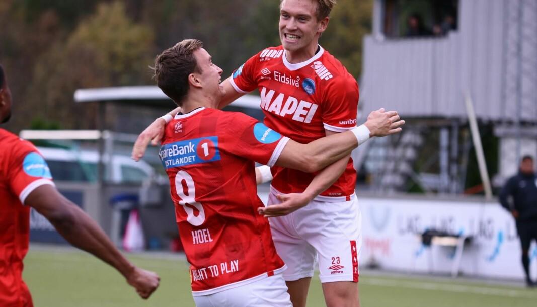 Martin gikk igjen i scoringsoversikten. Martin Tangen Vinjor scoret to mål, og Martin Hoel Andersen (nummer 8) fastsatte sluttresultatet til 4-0 til KIL.