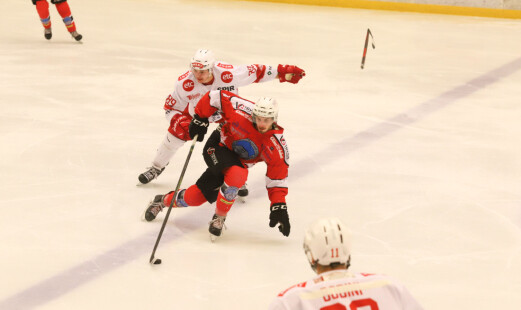Tøff start for hockeygutta