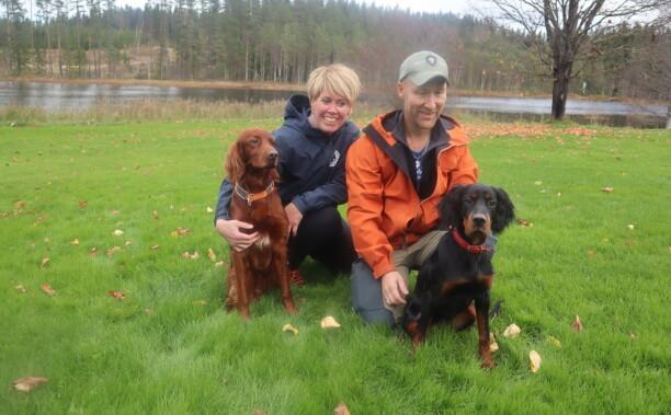 Gode jaktkamerater og fullverdige familiemedlemmer