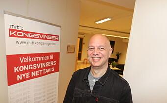 Audun er ansatt som ny ansvarlig redaktør i Mitt Kongsvinger