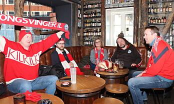 Her er supporterne som har reist nordover: – Er her for opprykket