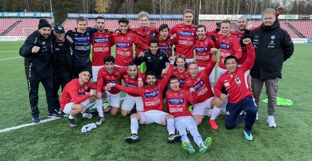 KIL ble seriemestere i 6. divisjon